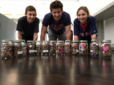 Kids with their Jars